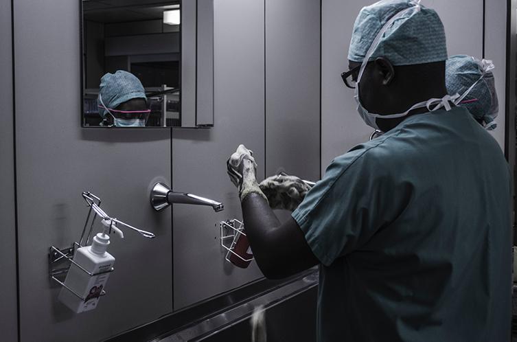 vloer cleanroom operatiekamers